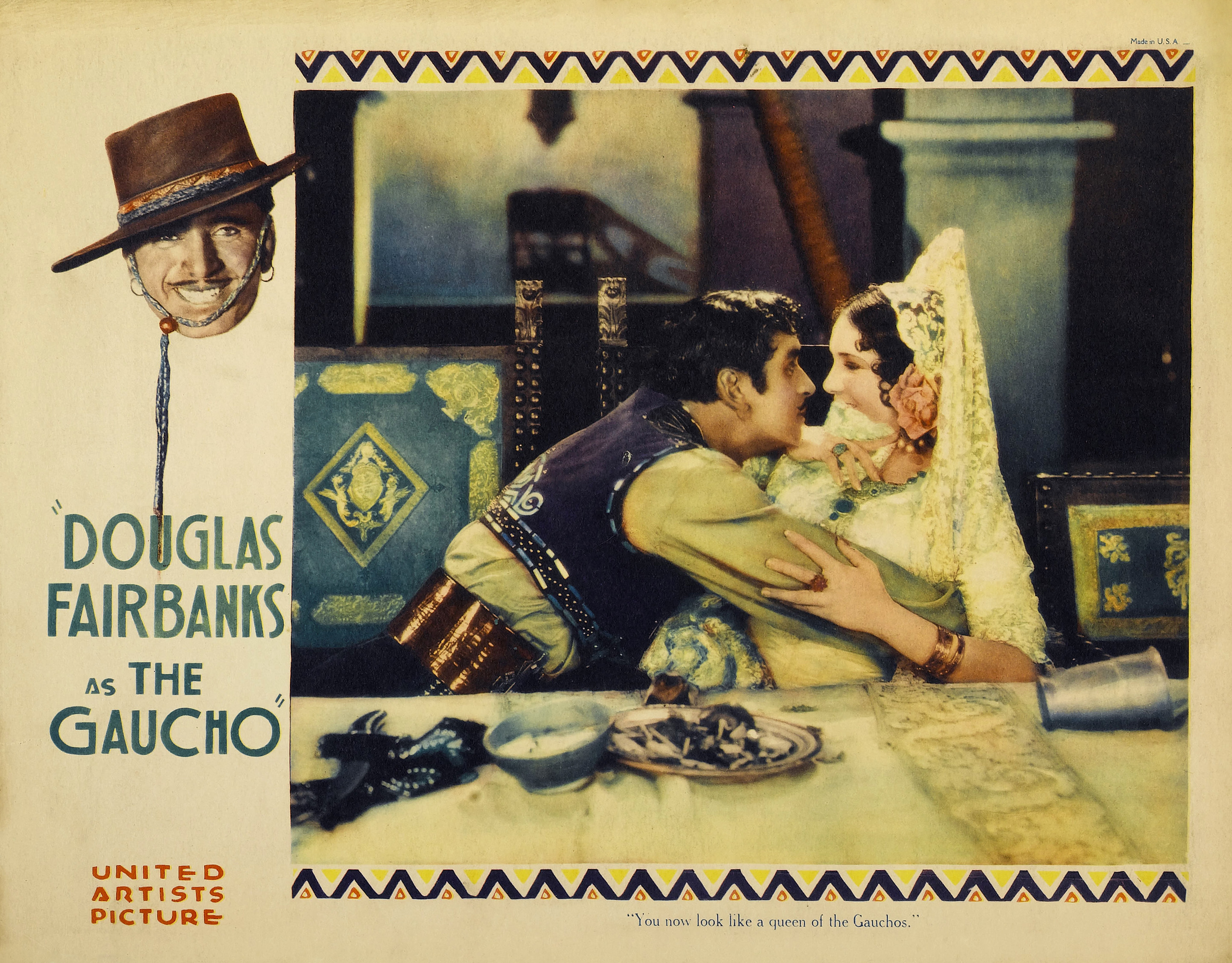 The_Gaucho_(1927)_poster_Lupe_Velez_bringmynoise.net